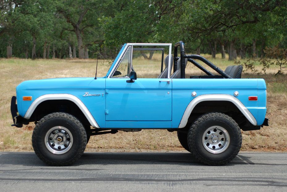 "my favorite Bronco Color ""sky view blue"". I miss my old Bronco"