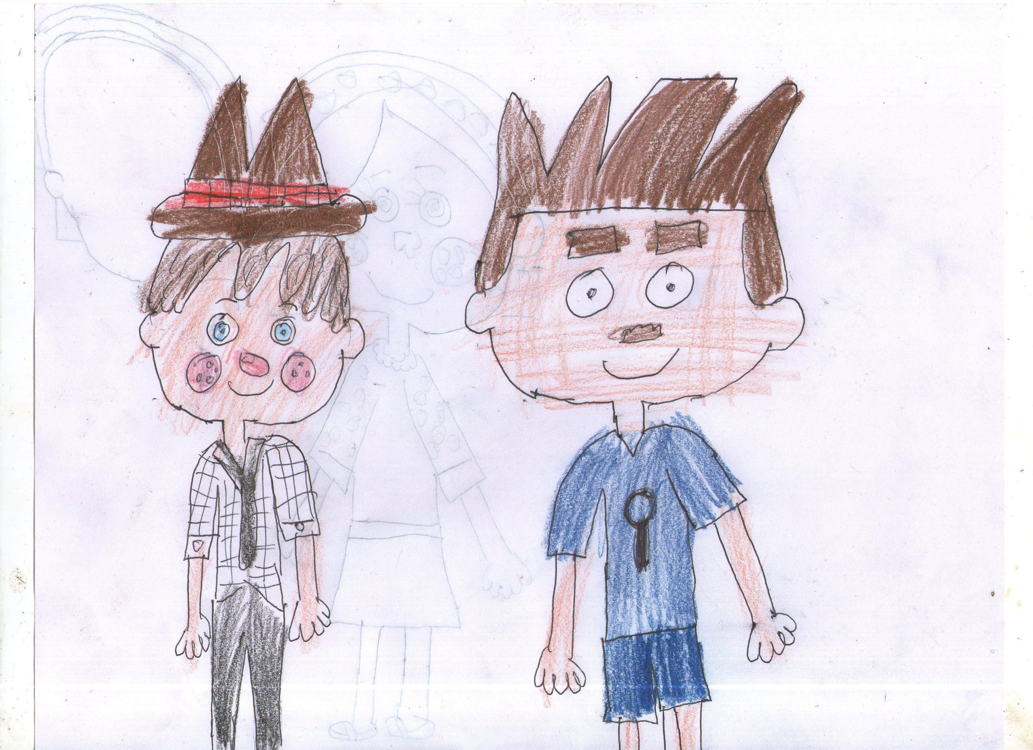 Mcgee Campamento Lakebottom Y Matt Floopaloo Dibujos Dibujos Animados Campamento
