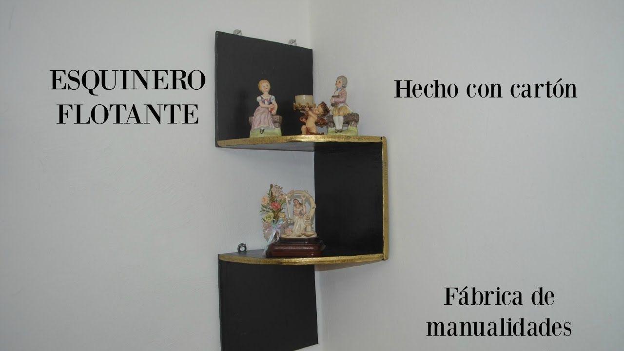 Con Flotante Esquinero Hecho CartónManualidades Periódico y0wN8vmnO