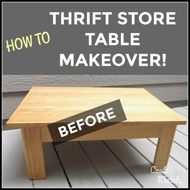 Garbage to Gorgeous Episode Cat Table Makeover  Cricut Crafts  Craft Klatch