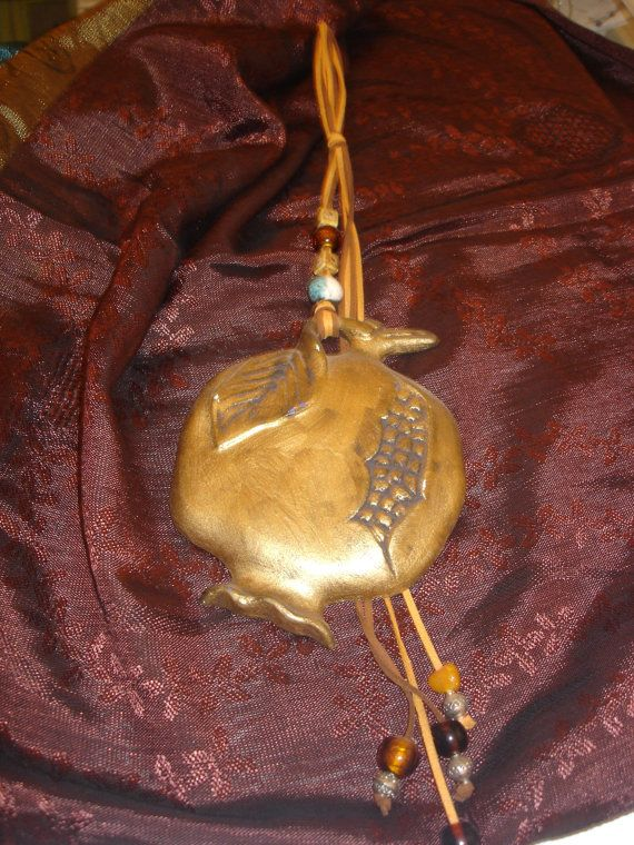 Greek traditions Terra cotta Good Luck Ceramic by CarolinaHydra, $70.00