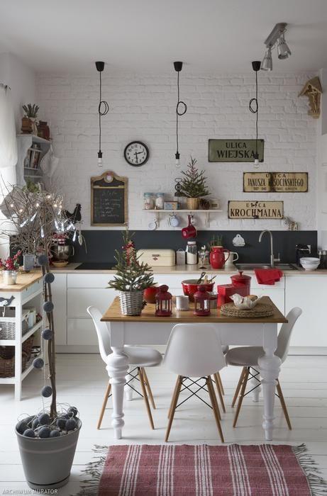 Kuchnia Swiateczny Wystroj Wnetrza Home Decor Decor Home