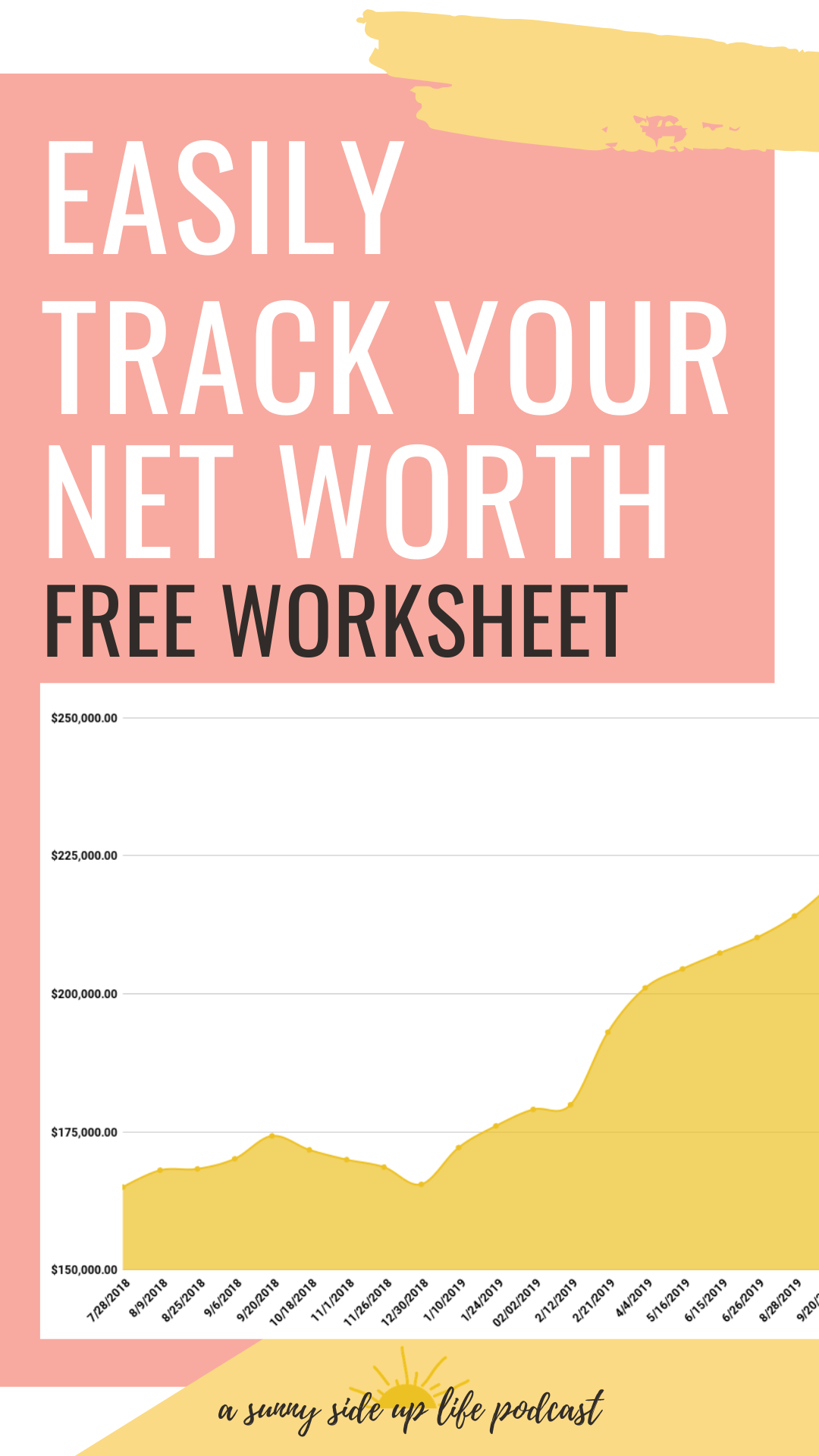 Easily Track Your Net Worth Free Worksheet In