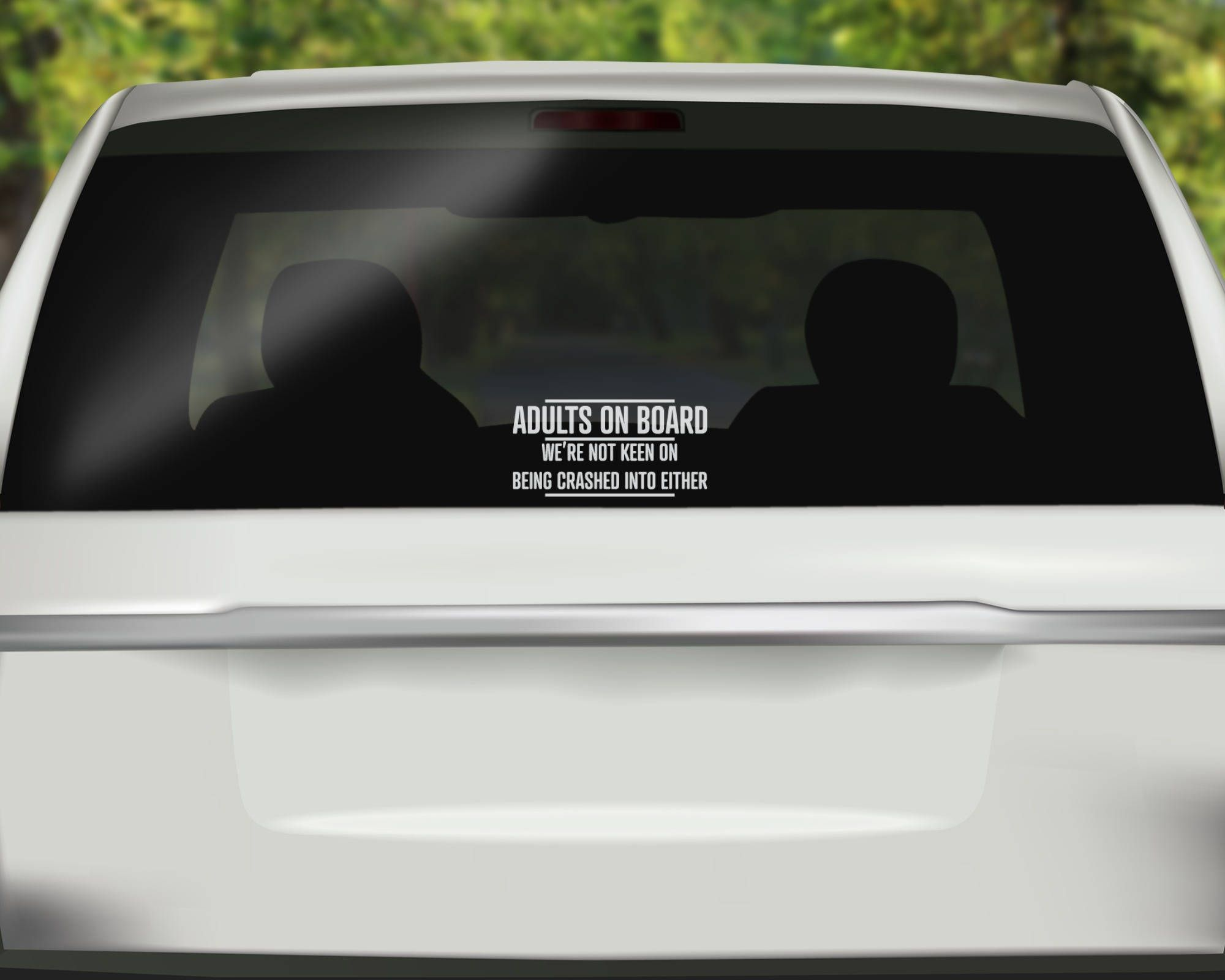 Adults On Board Decal Baby On Board Funny Car Decal Car - Funny decal stickers for carssticker car window picture more detailed picture about funny car