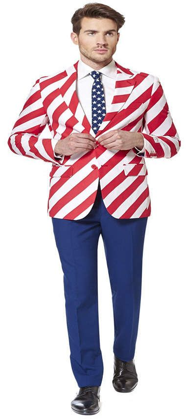 OppoSuits United Stripes Men Suit #menssuits