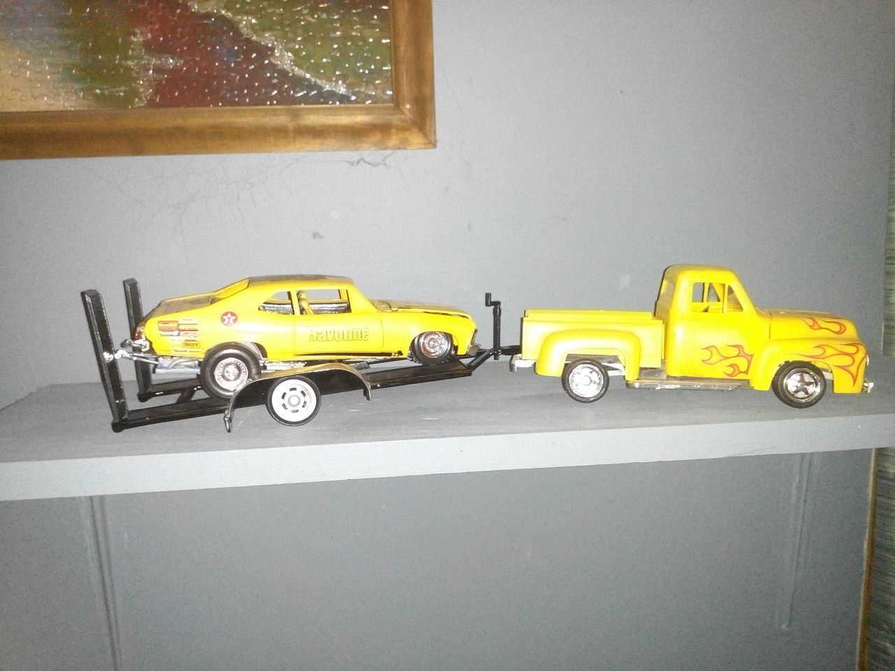 Gallery Pictures  Ford F  Pickup Street Rod Plastic Model Truck