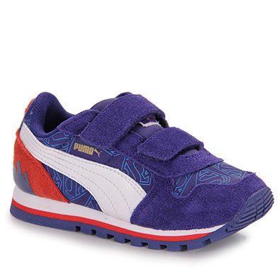 0592772e3 Tênis Infantil Puma St Runner Superman - 20 Ao 25 - Azul | çocuk ...