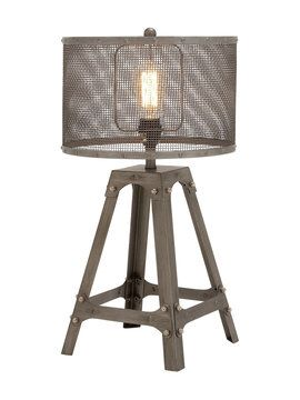 Table Lamp From What S Old Is New Vintage Inspired Accents On Gilt Table Lamp Lamp Metal Table Lamps