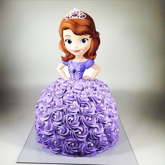 Bolo Princesa Sofia Princess Sofia Cake Bolo Bolodecorado