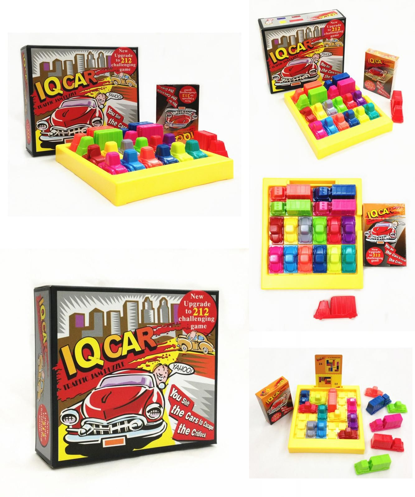 "Visit to Buy] ""IQ Car "" Board Game Puzzle Automobile Race IQ Car"