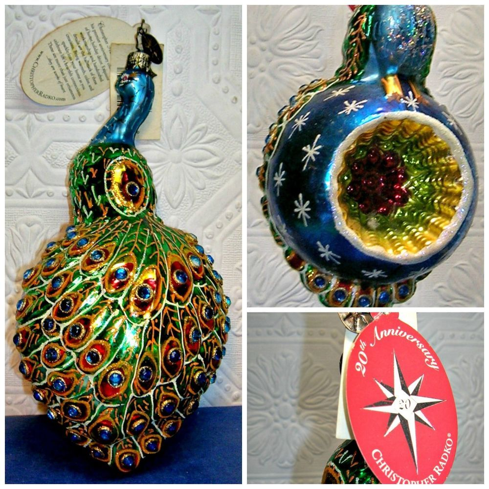 Wicked Fish Marlin Christmas Xmas Tree Porcelain Ornaments