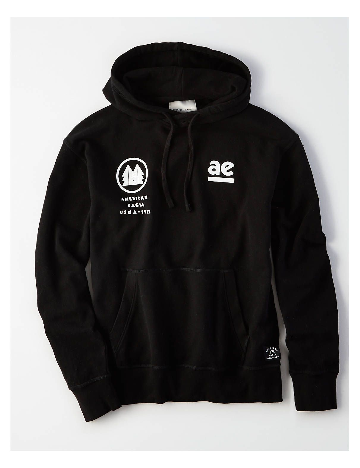 65f6dcd4b664 AE Ultra-Soft Graphic Pullover Hoodie