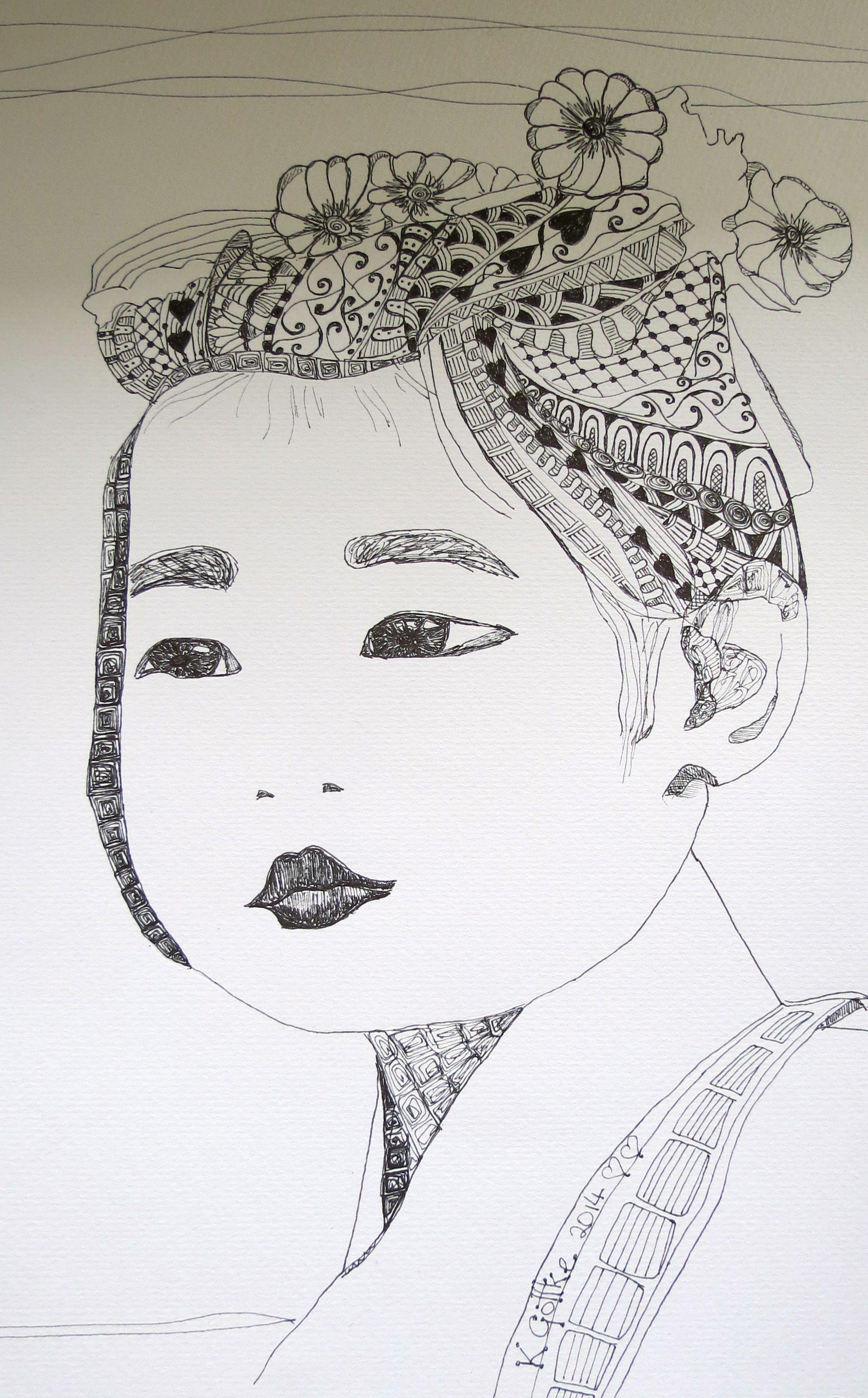 pen art by kat gottke Sept 2014