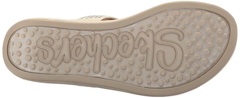 Skechers Cali Women's Upgrades studly Flip Flop >>> Click on