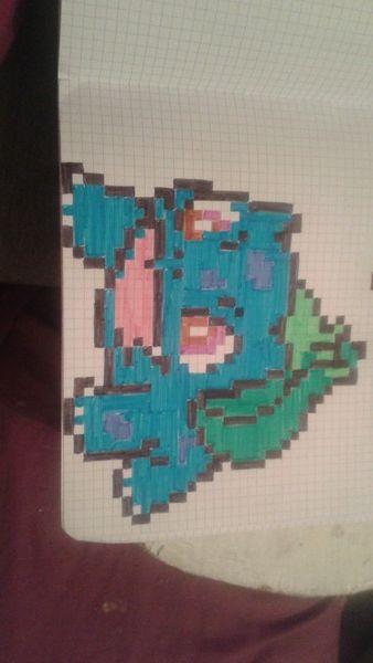 Bulbizar Pixel Art Pixel Art Art Beading Patterns
