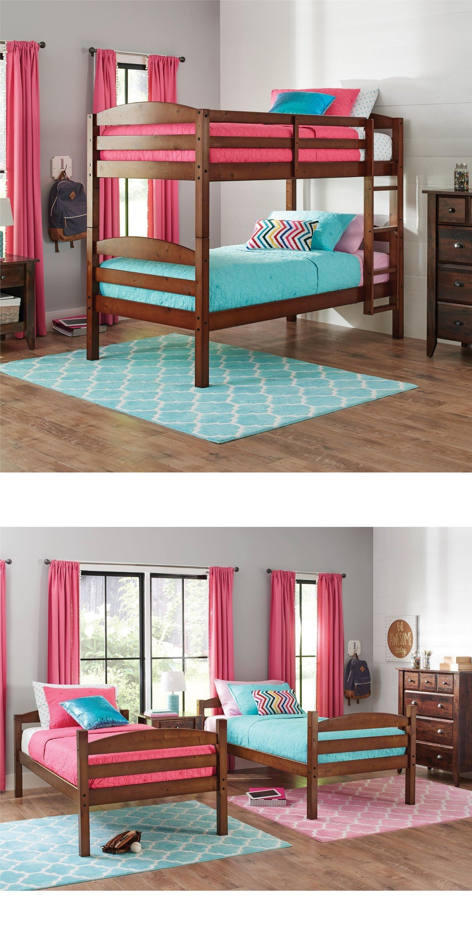 Bedroom sets better homes and gardens leighton twin over twin