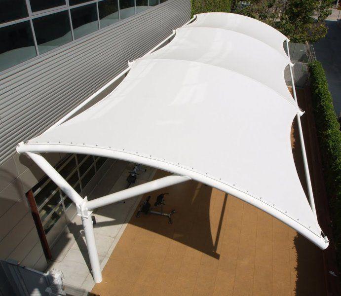 tensile membrane canopy - Google Search & tensile membrane canopy - Google Search | Tension membrane ...