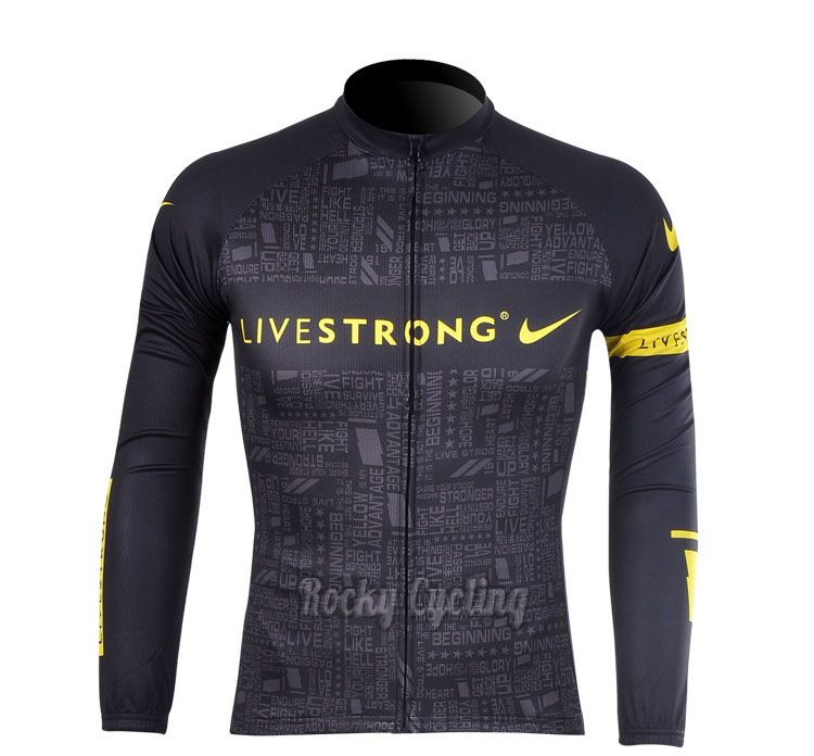 Livestrong cycling jersey NIKE  d5a8cc1a6