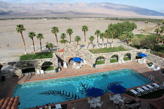 Pool At The Inn Furnace Creek Valley California