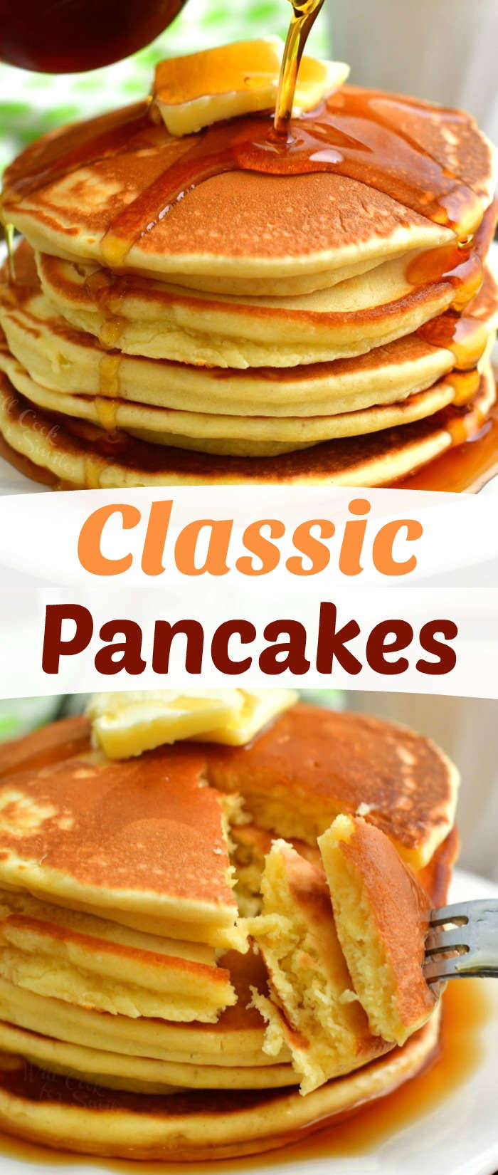 These Classic Pancakes Is Absolutely Perfect Soft And Fluffy Quick And Easy Breakfast Will Make A Beau Classic Pancake Recipe Best Breakfast Recipes Recipes