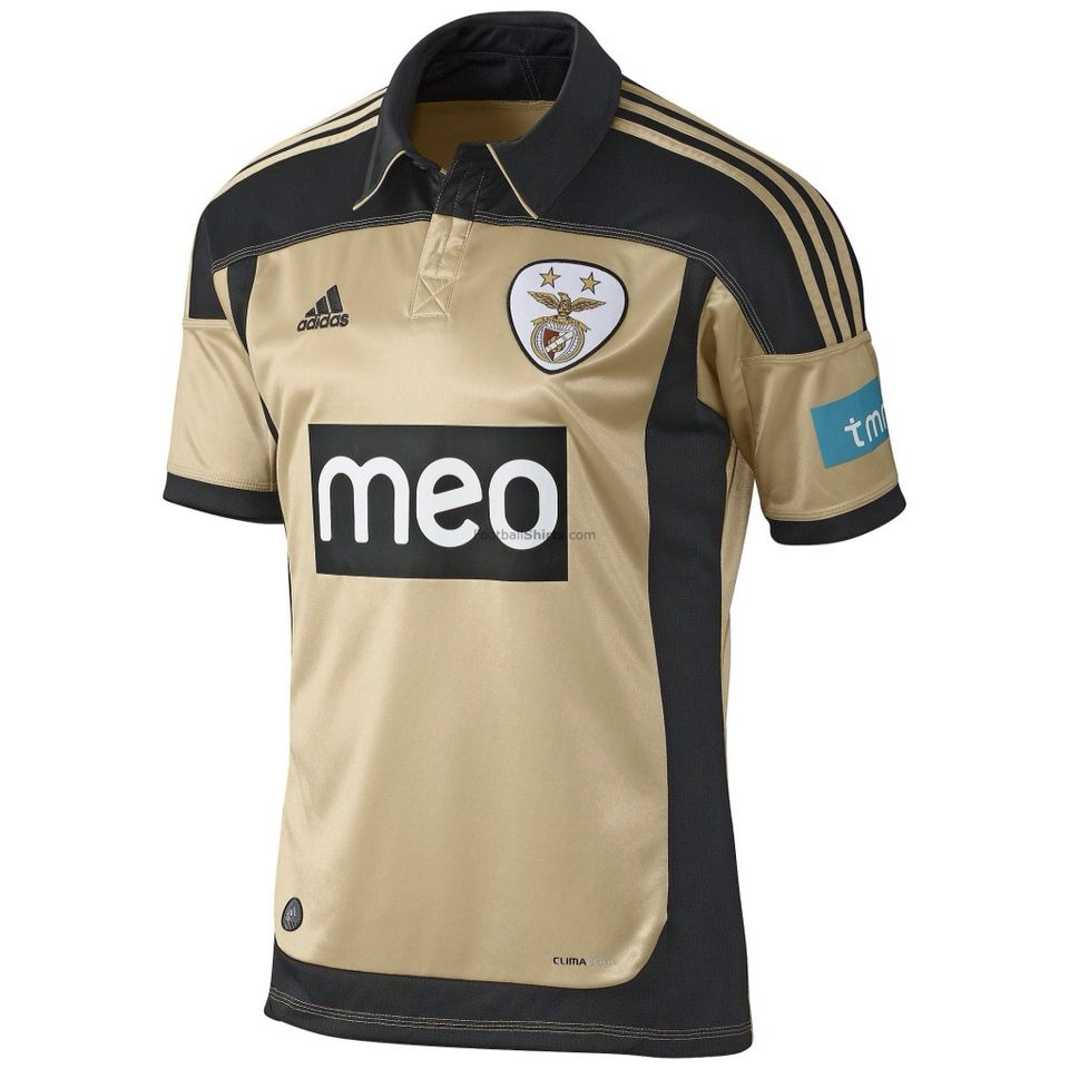 quality design 09f04 91937 2011-2012 SL Benfica Away Kit | Beautiful Football Shirts ...
