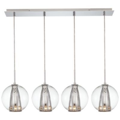 Contemporary chandeliers linear suspension modern chandeliers linear suspension at lumens com