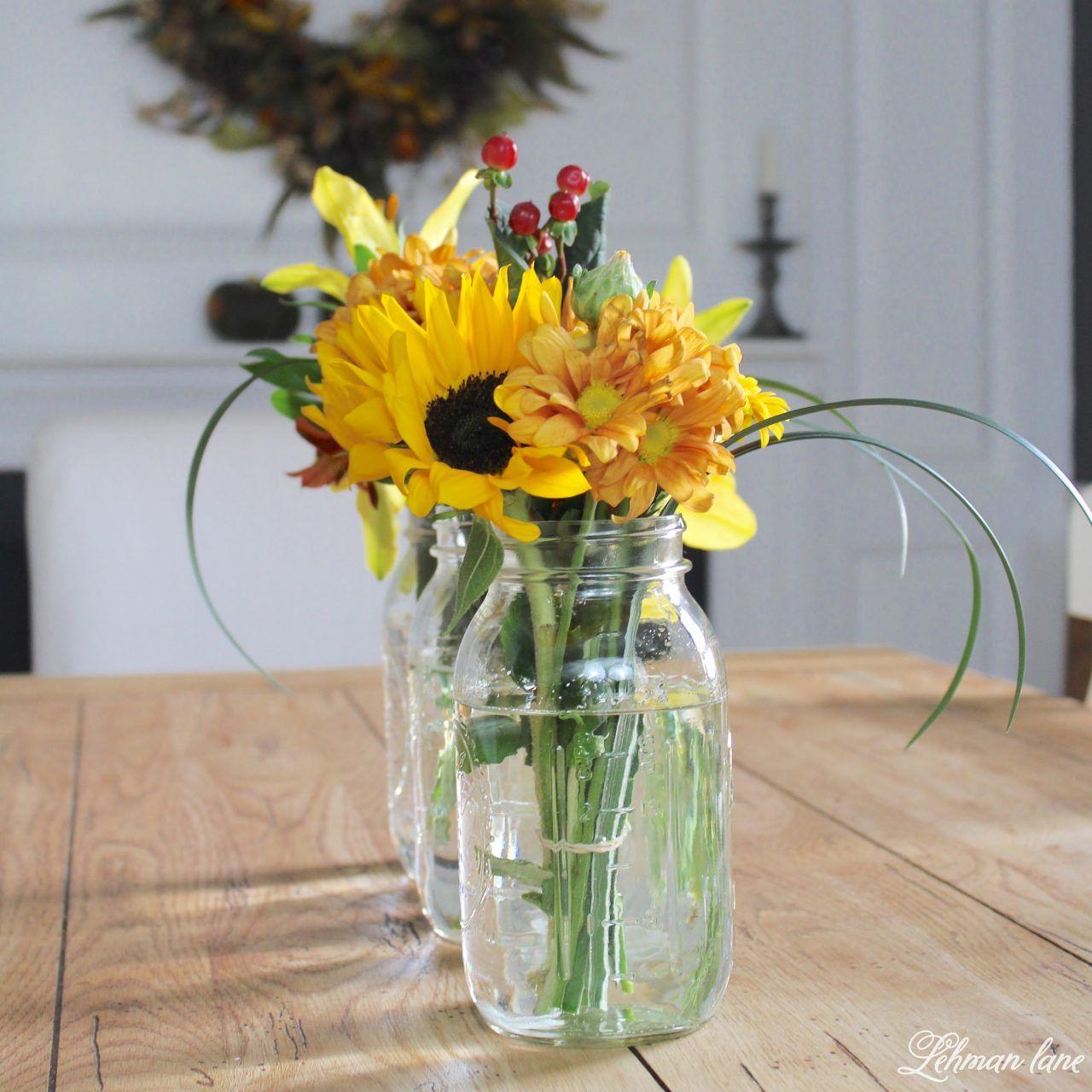 Diy Simple Flower Arrangement Tips 3 Flower Displays In 15 Minutes From The Grocery Store Lehman Lane Flower Arrangements Simple Flowers Flowers,Modern Kitchen Countertops