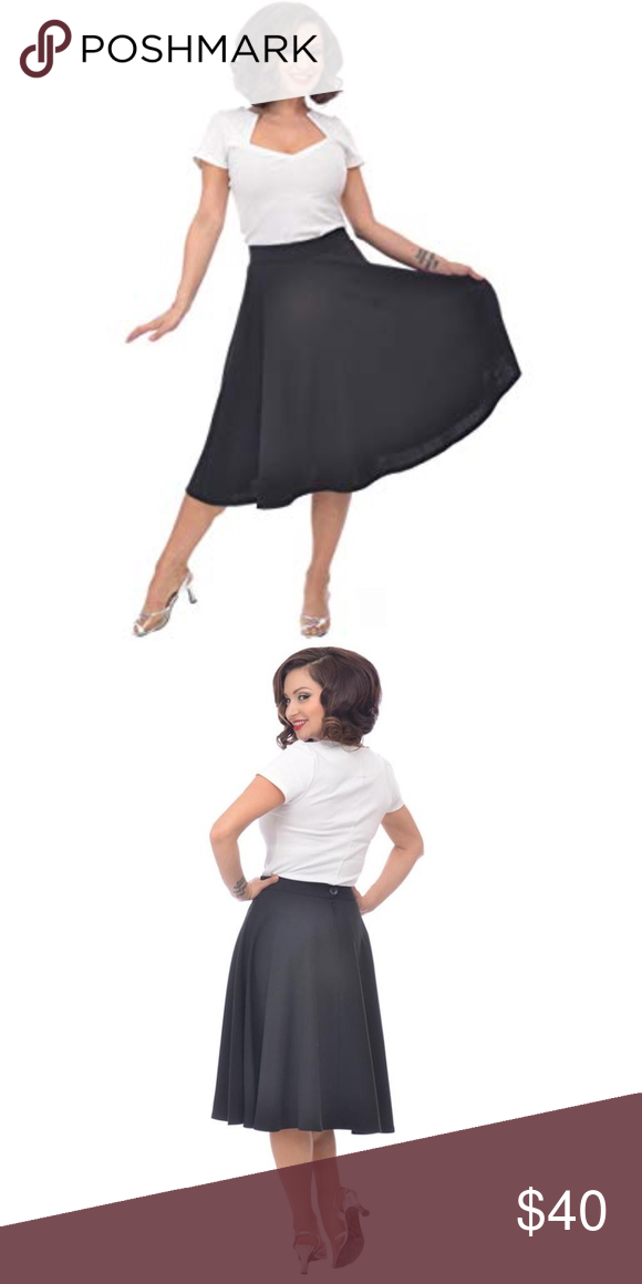 4902448b0 Steady High Waist Thrills Skirt Pinup Retro Once again, Steady has created  a must own
