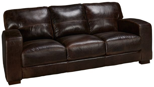 Soft Line Aspen Leather Sofa Jordan S Furniture