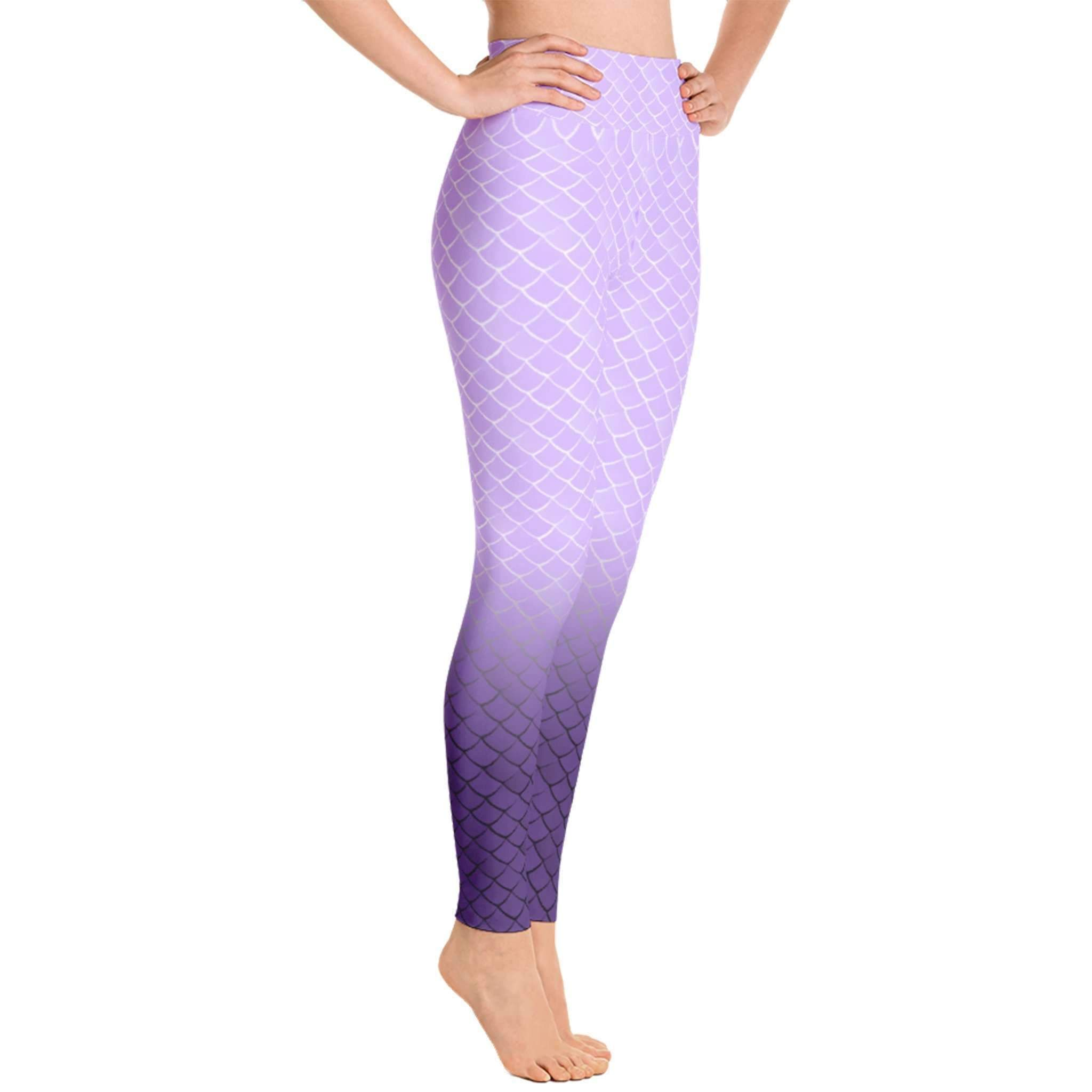 27e12df208eba Mermaid fish scale print Leggings- Womens and Mens | Products ...