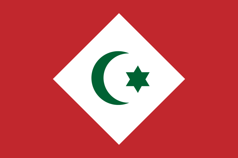 Historical Flag Flag Of The Republic Of The Rif The Republic Of The Rif Full Name The Confederal Republic Of The Tr Flag Flags Of The World Historical Flags
