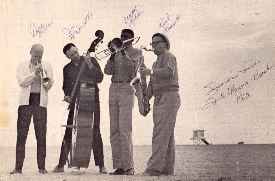 Synanon jazz on the beach in Santa Monica Vintage los