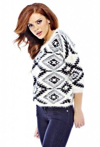 Tribal Diamond Sweater available on shopmodmint.com