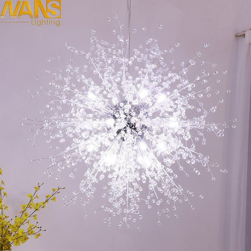 Nans Modern Led Lamp Vanity Cristal Imitation Acrylic Home