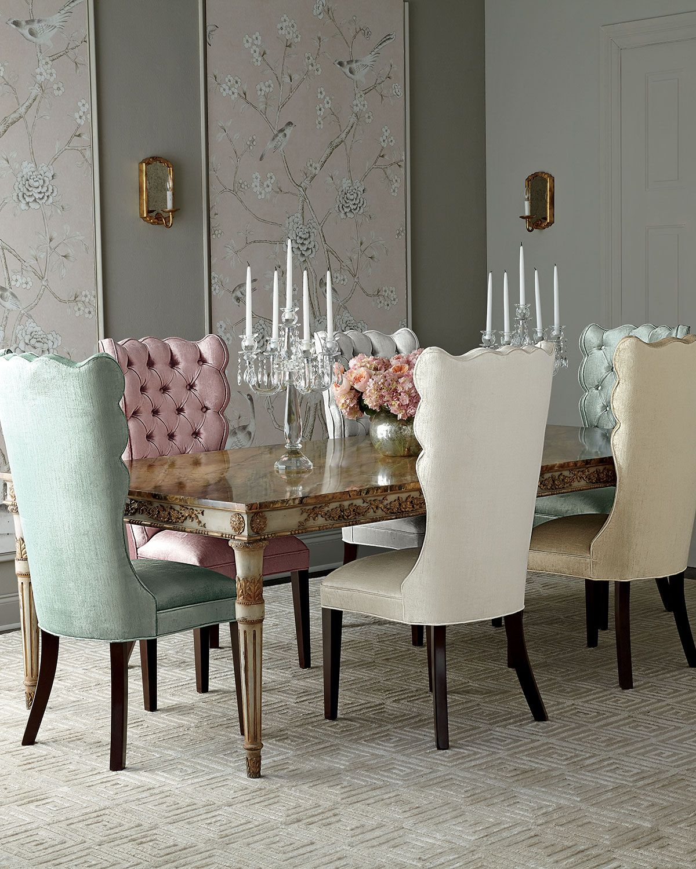 Designer Dining Room Furniture: John-Richard Collection Annabelle Dining Table & Valerie