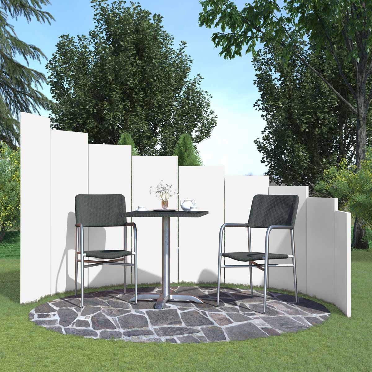 Systemzaun Palisade Als Sichtschutz Stele X1f31e Outdoor Furniture Sets Outdoor Decor Outdoor Furniture