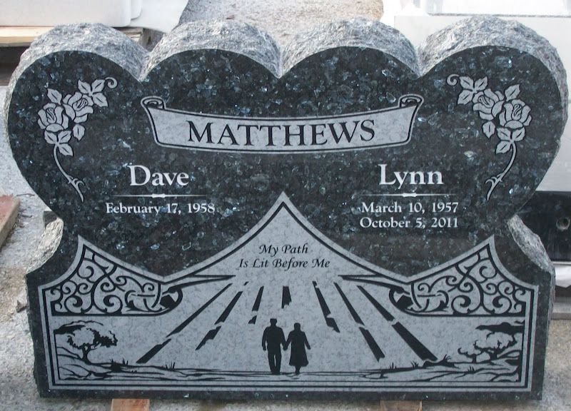 Upright Grave Marker In Blue Pearl Granite Pacific Coast Memorials Grabgestaltung Friedhofe Trauer