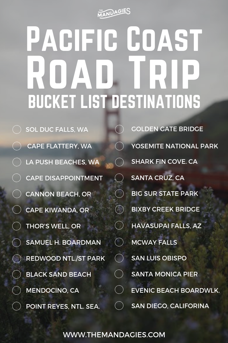 The Perfect Pacific Coast Highway Road Trip Plan (
