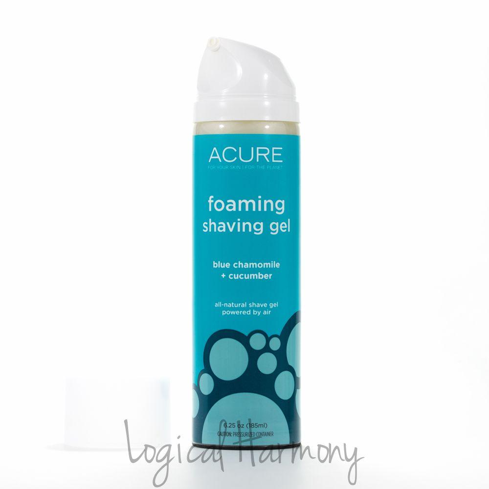 Acure Organics Foaming Shaving Gel Review