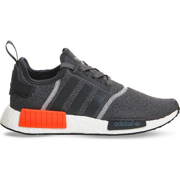 Cheap Adidas NMD R1 PK OG Original Black Red Blue White PrimeKnit