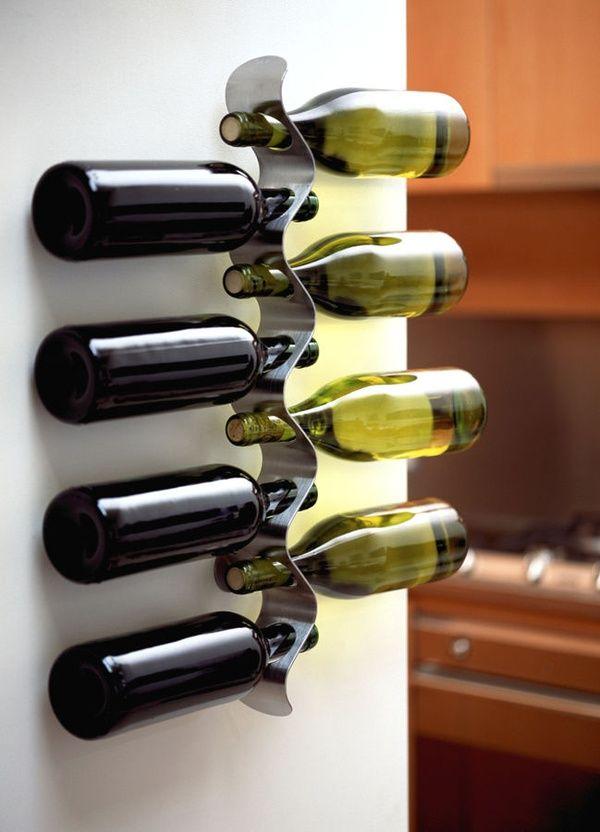 bottle rack FLOW black+blum | 2 | Pinterest