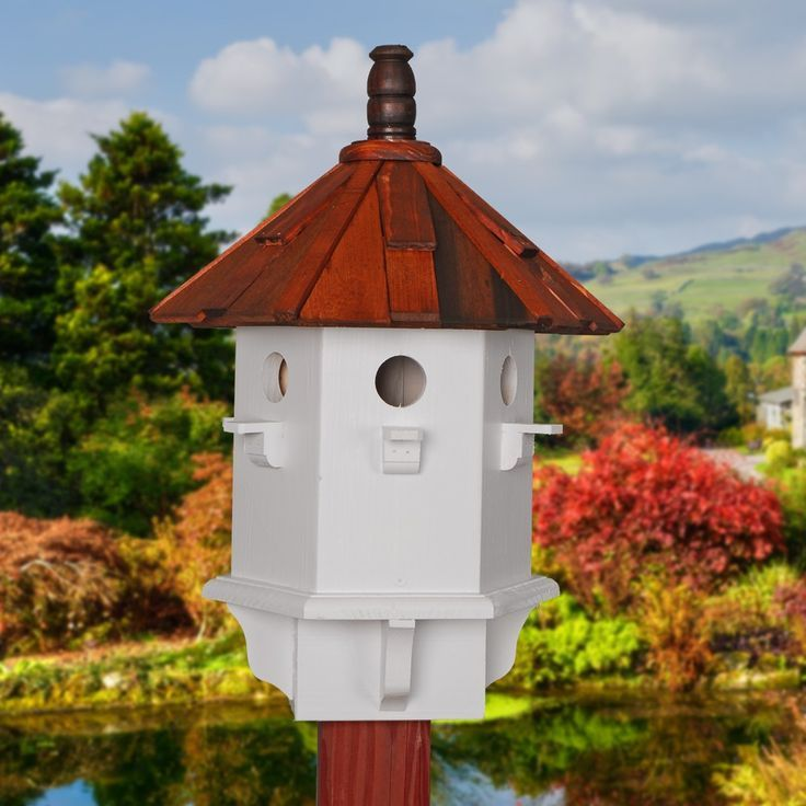 Image Result For Round Birdhouse Shake Roof Wooden Bird