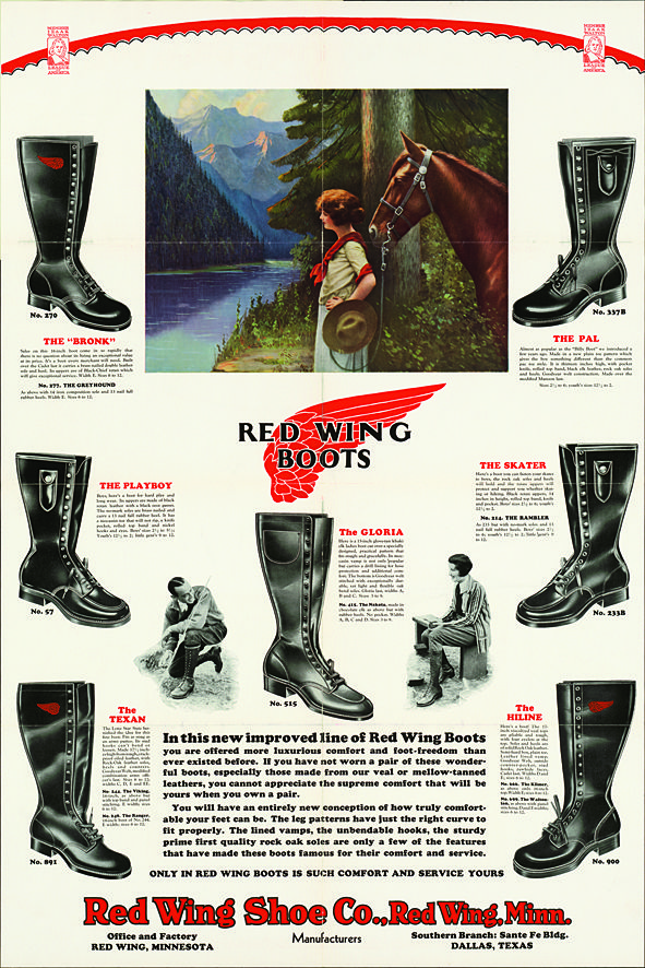 af1942dfa93 LIFE TIME GEAR: RED WING SHOES | LAUNCH OF RED WING HERITAGE WOMEN'S  COLLECTION…