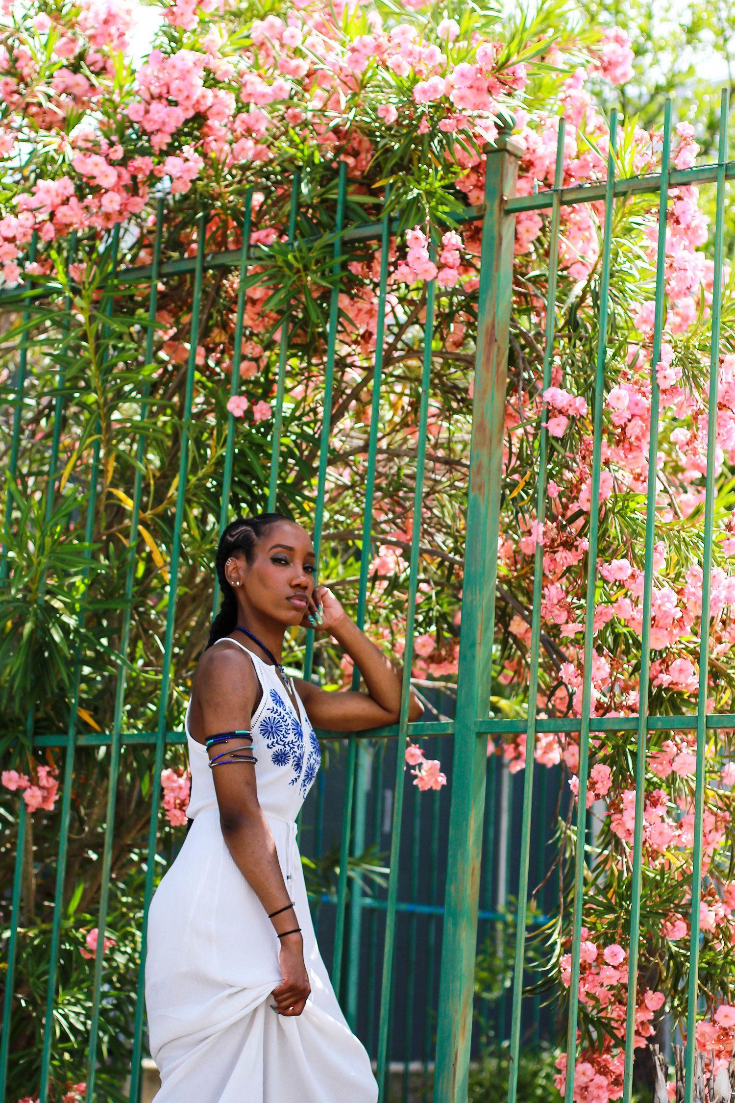 Mediterranean Goddess Outfit For Coachella White Maxi Dresses