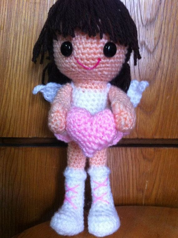 Beautiful #Angels that I\'ve found for you. Includes #Free #Crochet ...