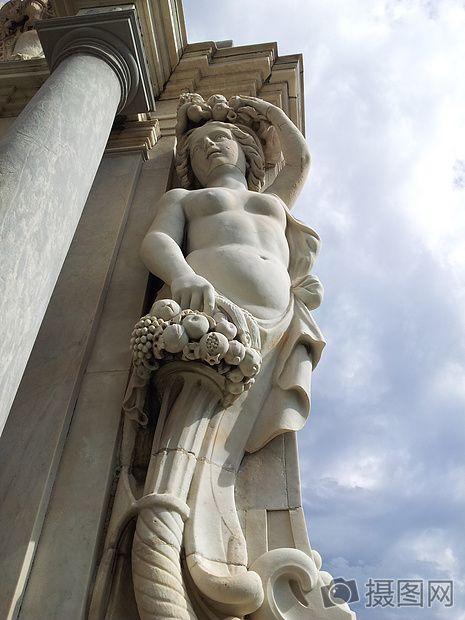 形象的雕像石