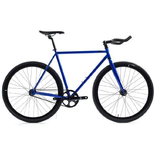d0d623e0868 State Bicycle Blue Steel Fixed Gear Single Speed Bike, 55cm - World of  Cycling - The Internet Bicycle Store