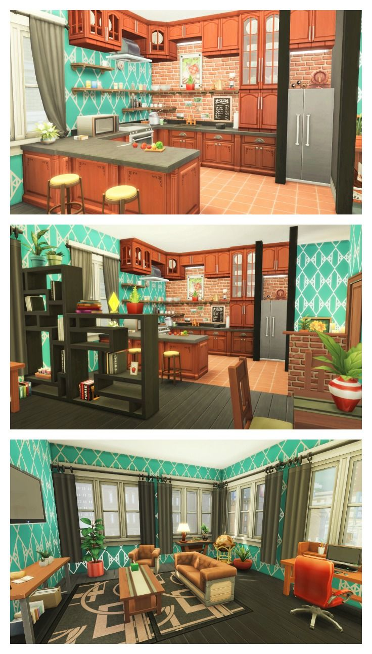 The sims renovation culpepper house no cc also rh in pinterest