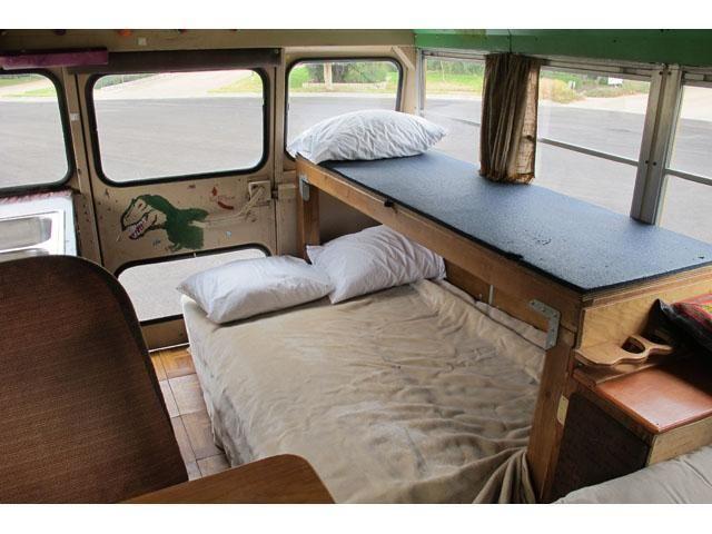 RV, camper, festival-chaser, hunting van, mobile home ...