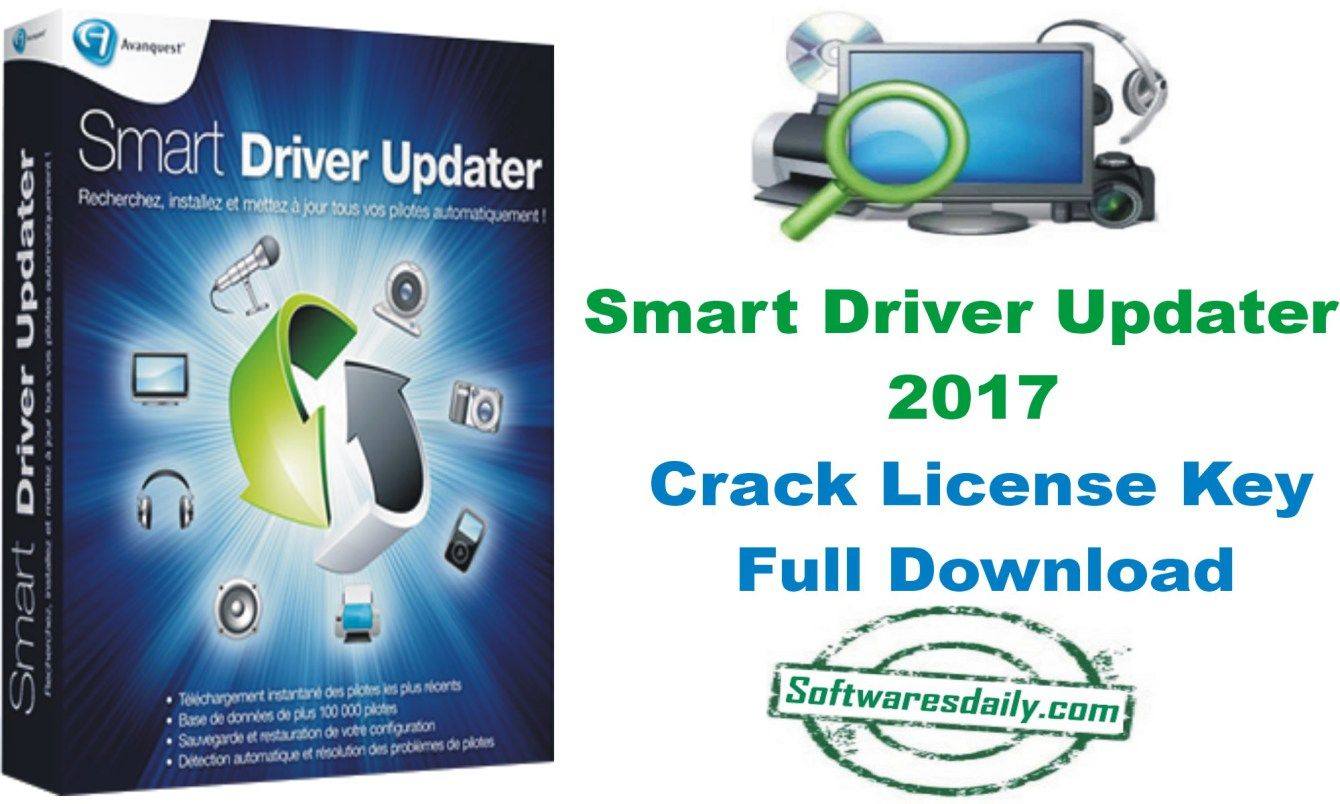 Smart Driver Updater 2017 Crack License Key Full Download